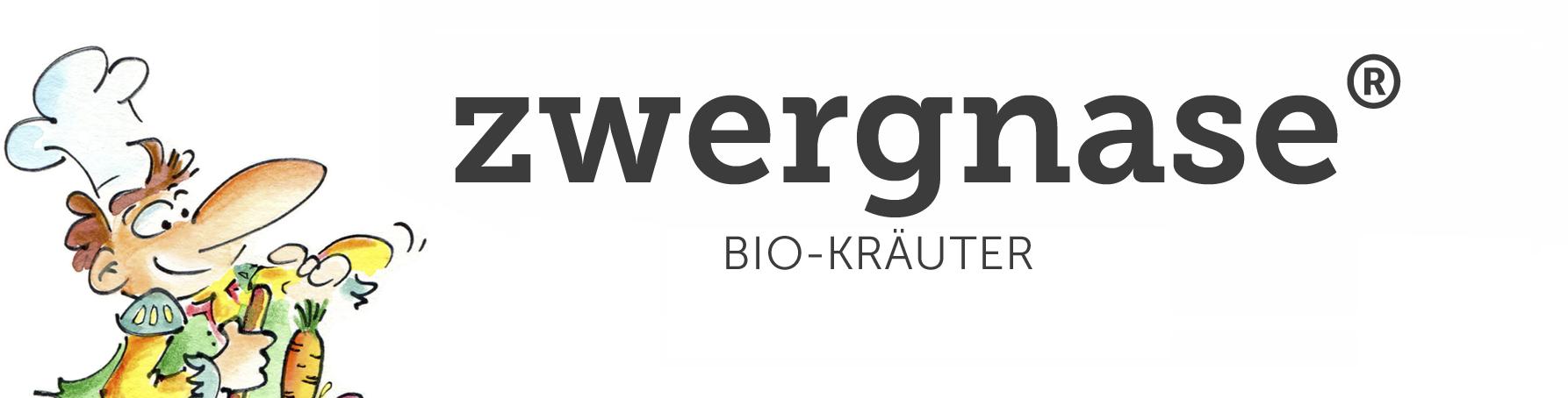 ZWERGNASE Bio-Kräuter-Logo